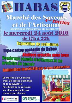 AFFICHE MARCHE 2016