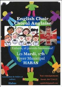 CHORALE ANGLAISE